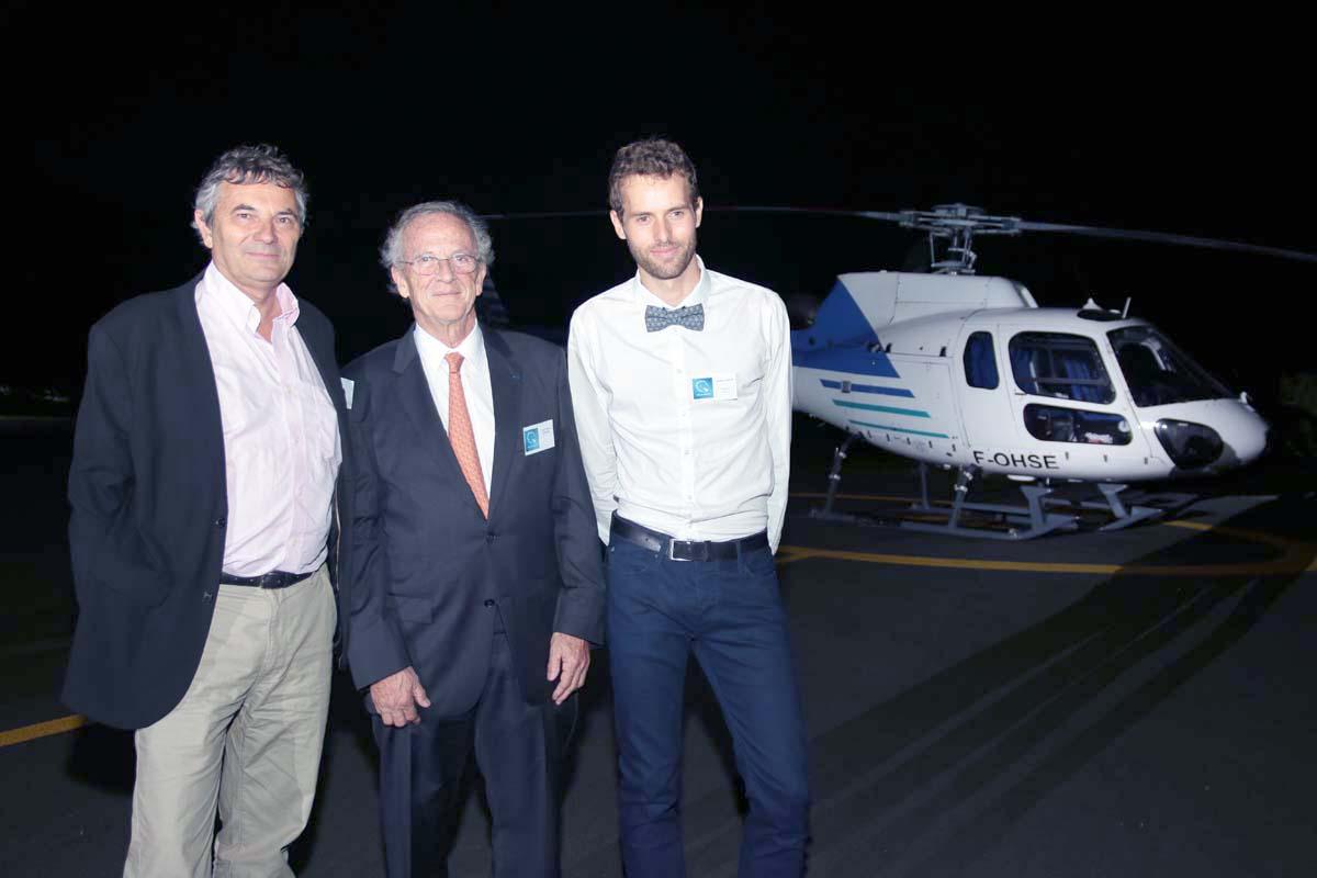 Christophe Rosset, Jean-Marie Lavaivre, et Yannick Millet