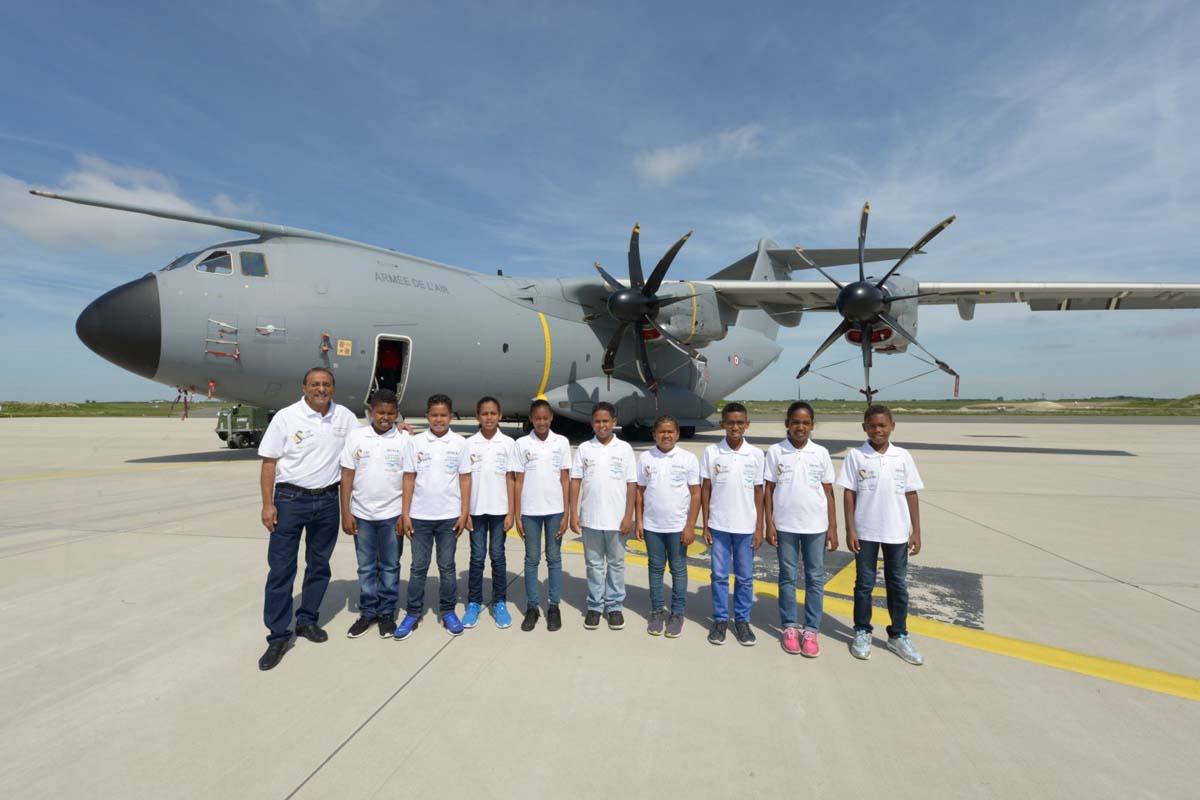 A la Base Aérienne 123