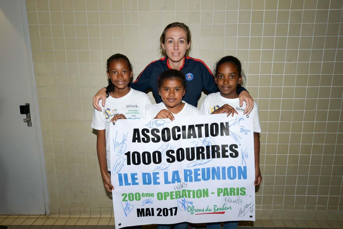 Deuxième semaine de rêve pour les marmailles de 1000 Sourires à Paris!