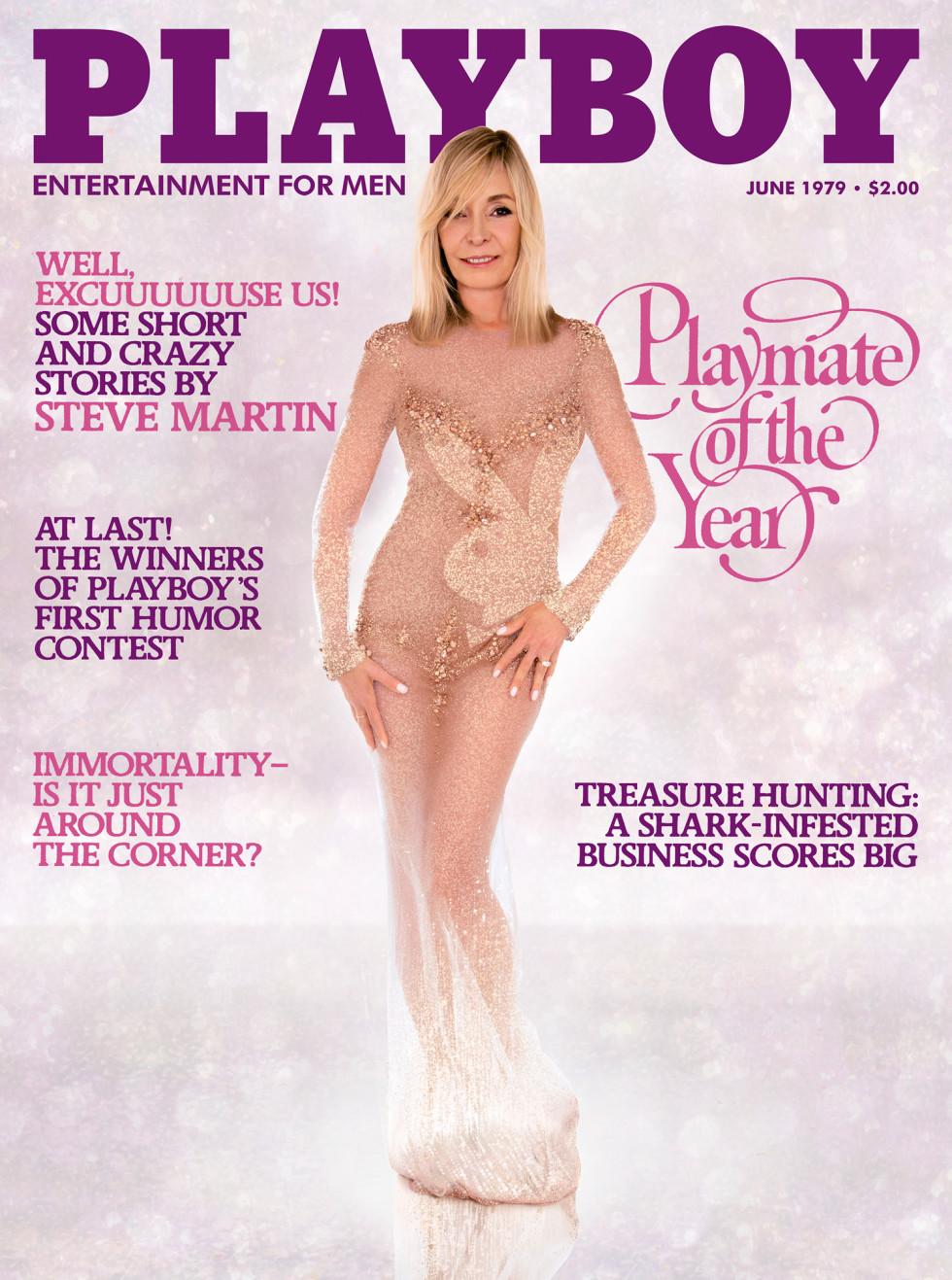 Quand Playboy reprend les mêmes 30 ans plus tard...