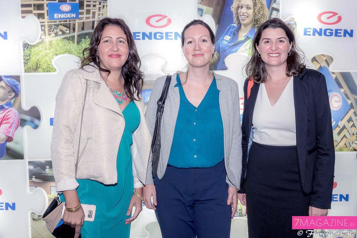 Cindy Lokhat, Claire Pichot et Céline Prigent