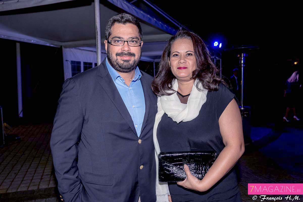 Fabrice Vandomel de Be Green Engineering et son épouse