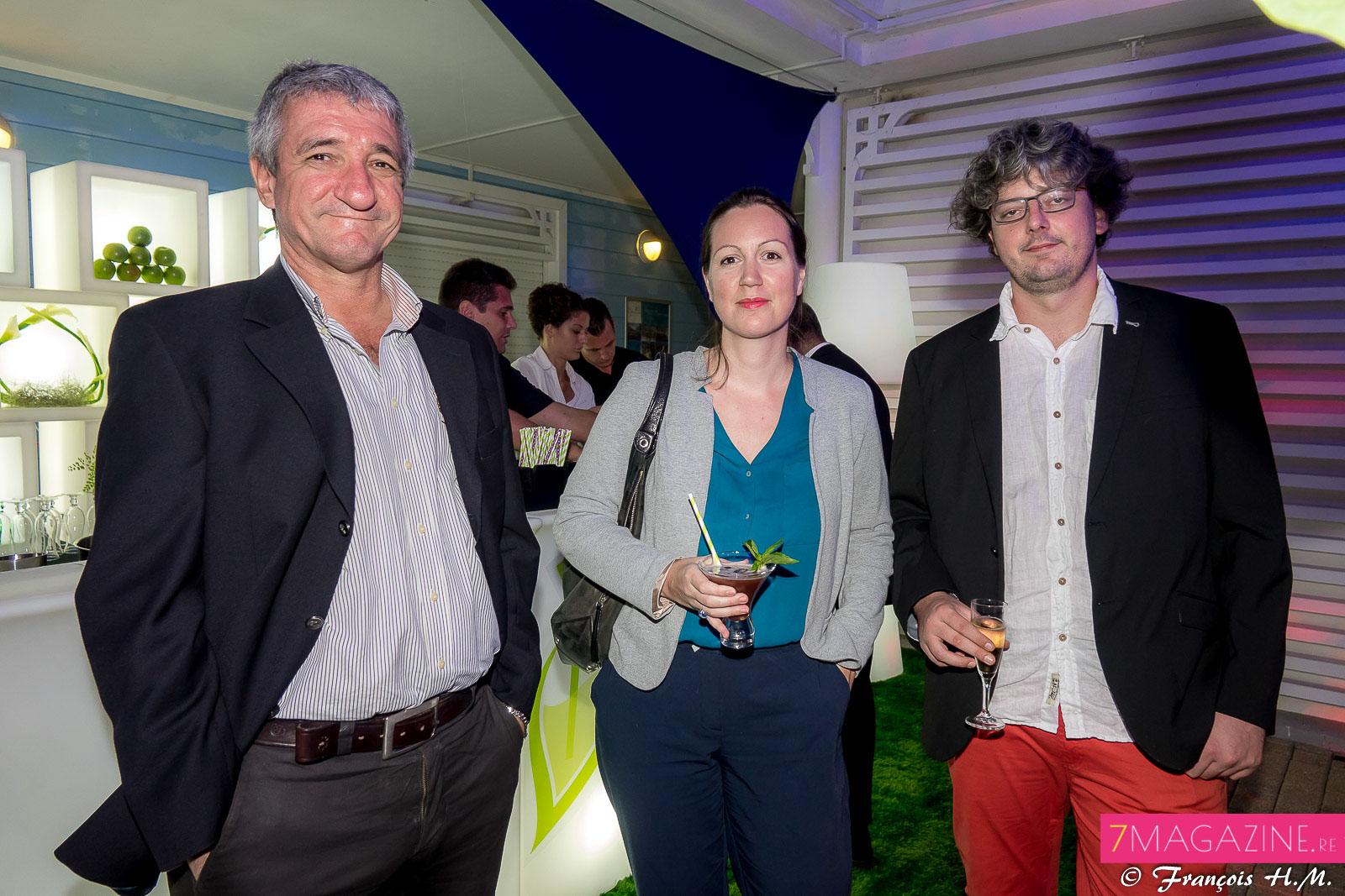Eric Astydamas d'Engen, Claire Pichot de la société Mondelez et son époux