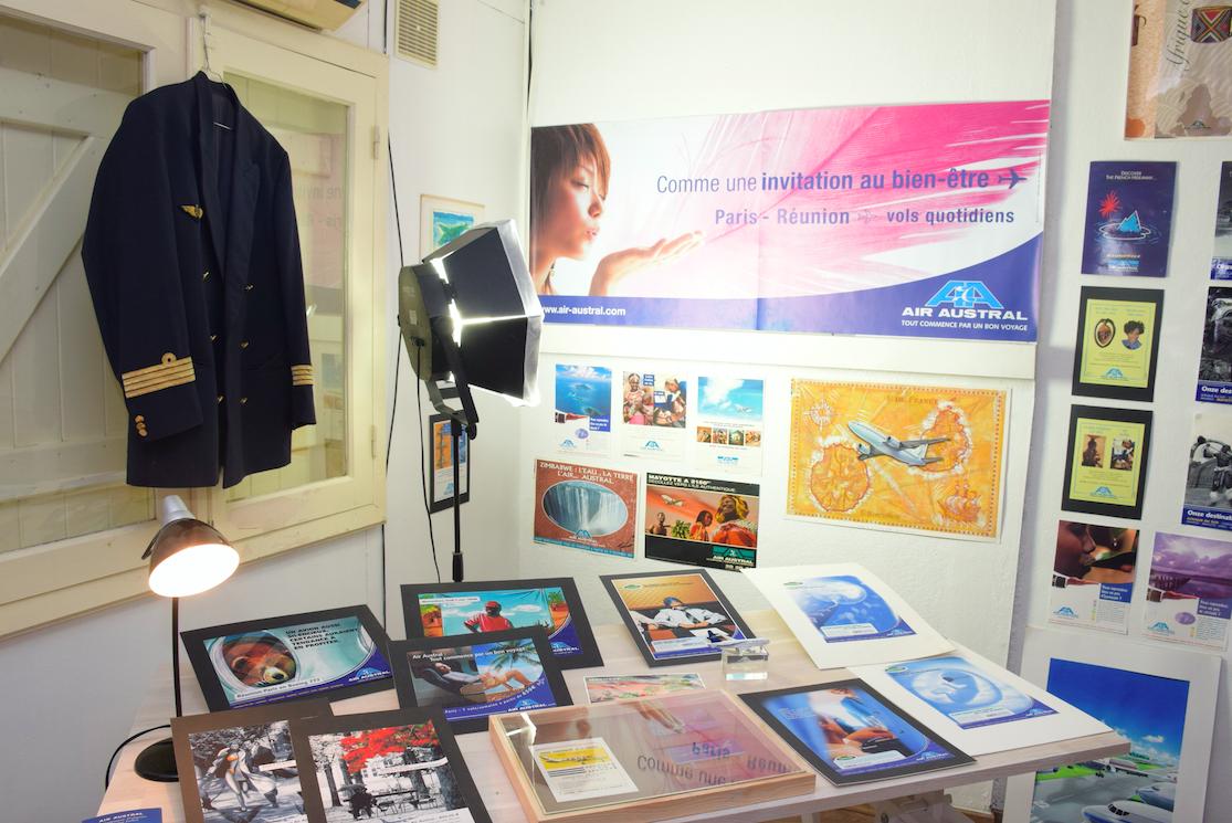 Air Austral l'un des plus fidèles clients de l'agence de la rue Juliette Dodu