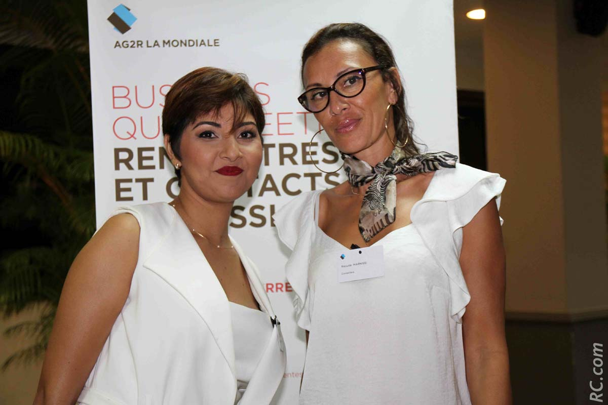 Mirella Mohamedaly, Accompagnatrice Métier, et Raouda Marnissi, conseillère
