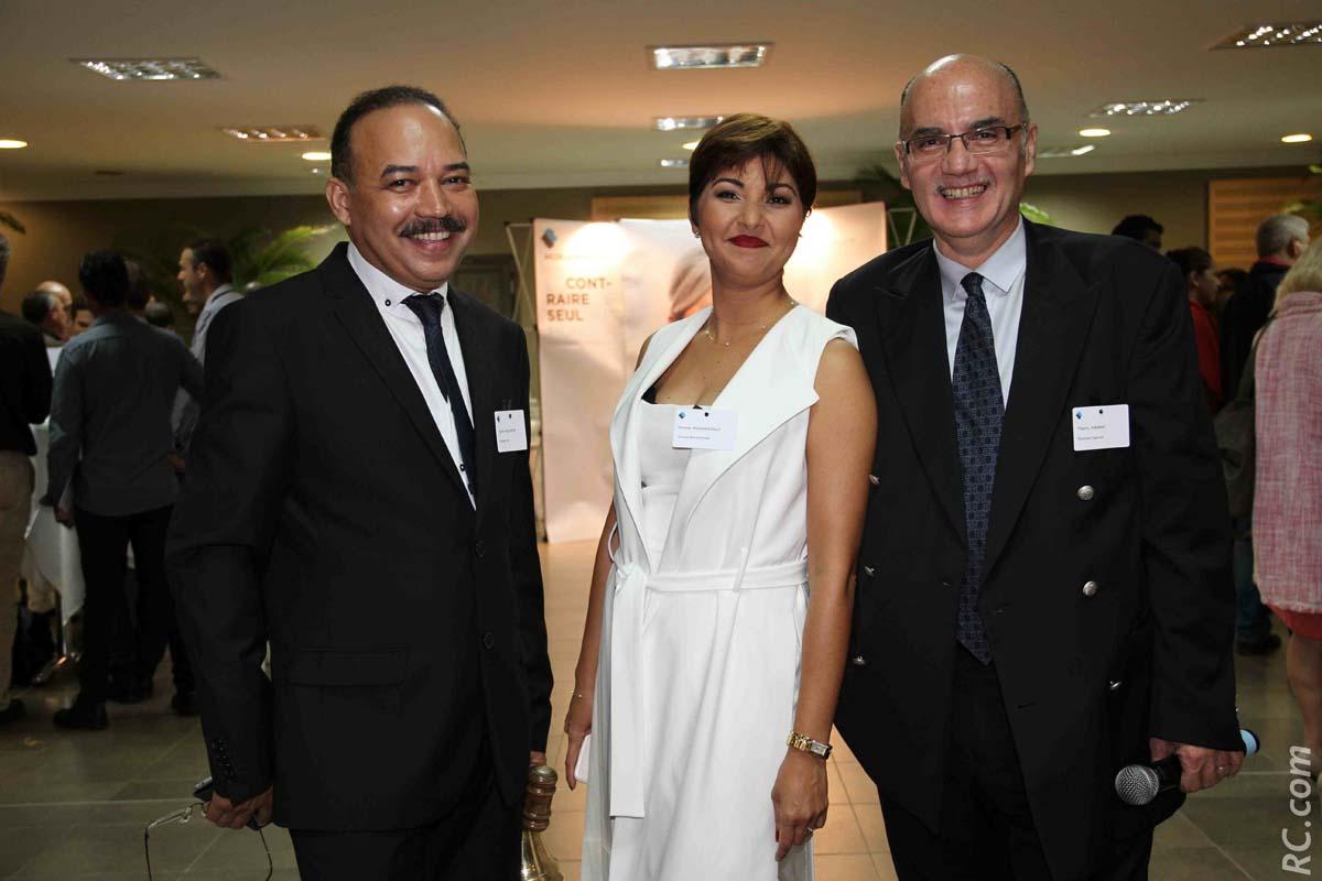 Pierre Hoolodor, Mirella Mohamedaly, et Thierry Pierrat