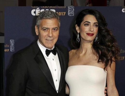 Surveillance ultra rapprochée pour les jumeaux Clooney