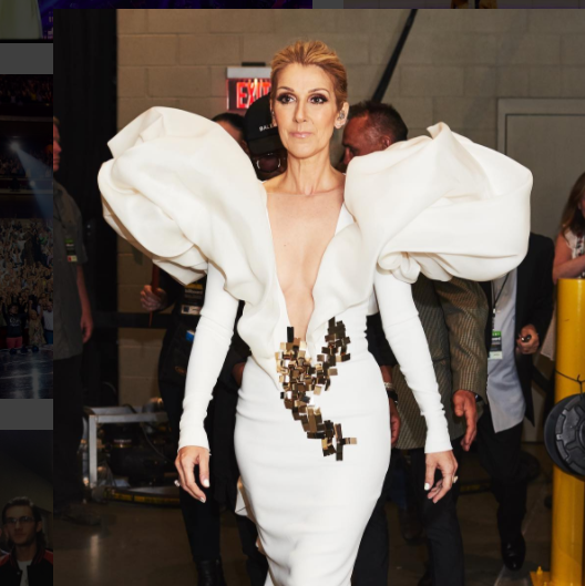 Photo: Capture Instagram Céline Dion