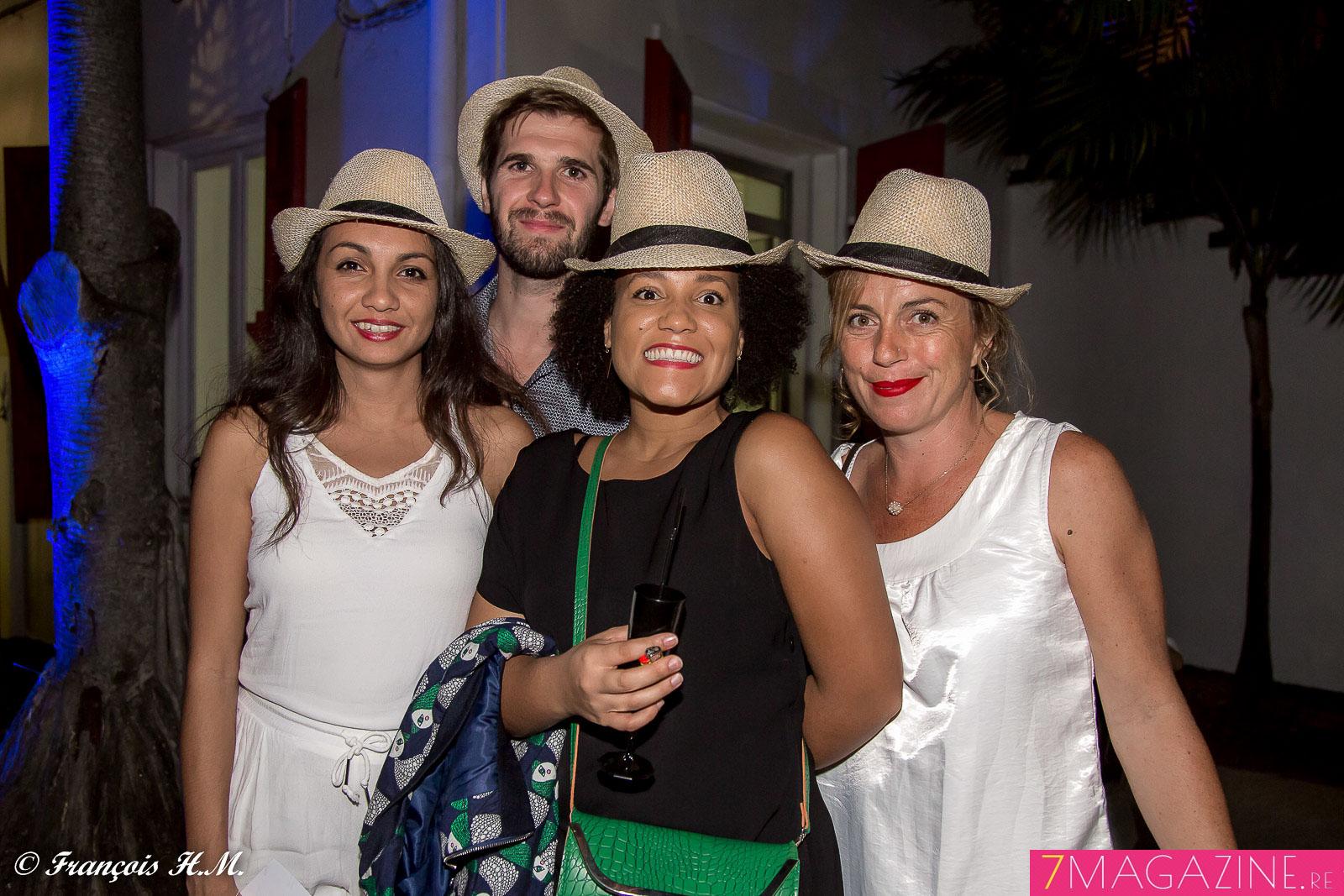 Jade Law Ham Tien, chargée de projet Digital Nautilus, Simon Larue, directeur Digital Nautilus, Céline Biron, conceptrice rédactrice Nautilus, et Céline Pasquino