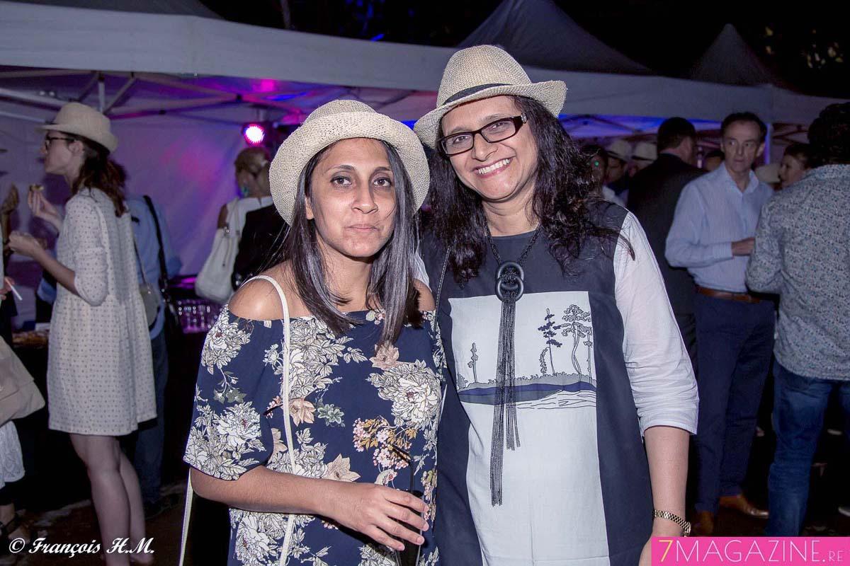 Natacha Paul, chargée de projet et rédactrice Nautilus Maurice, et Dilshad Subruty, directrice clientèle Nautilus Maurice