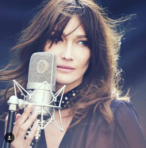 Photo : Instagram Carla Bruni