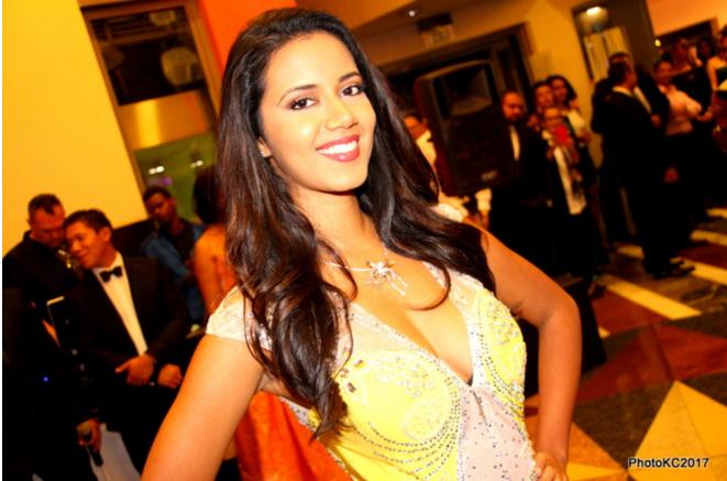 La candidate n°12 de Miss Réunion 2017 : Amandine Lacassin