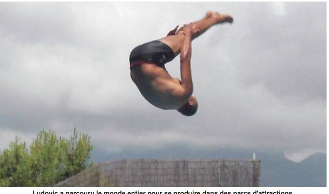 Le Réunionnais qui veut battre le record du monde de plongeon depuis un hélicoptère