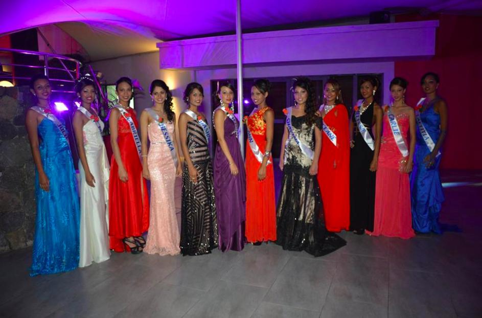 Photo : Capture d'écran Miss Mauritius National Pageant 2017