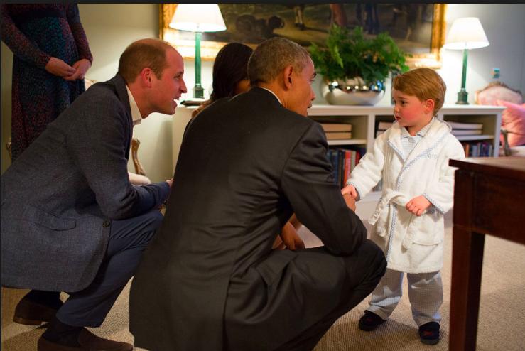 Le Prince George a 4 ans : l'adorable portrait...
