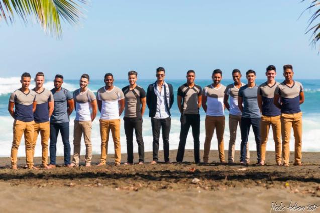 Les photos des candidats Mister Réunion 2017