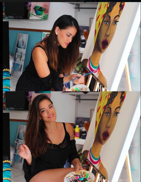 Hélène Sea Ung, l'artiste qui peut enfin se réaliser