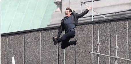 Tom Cruise : une cascade qui aurait pu très mal finir