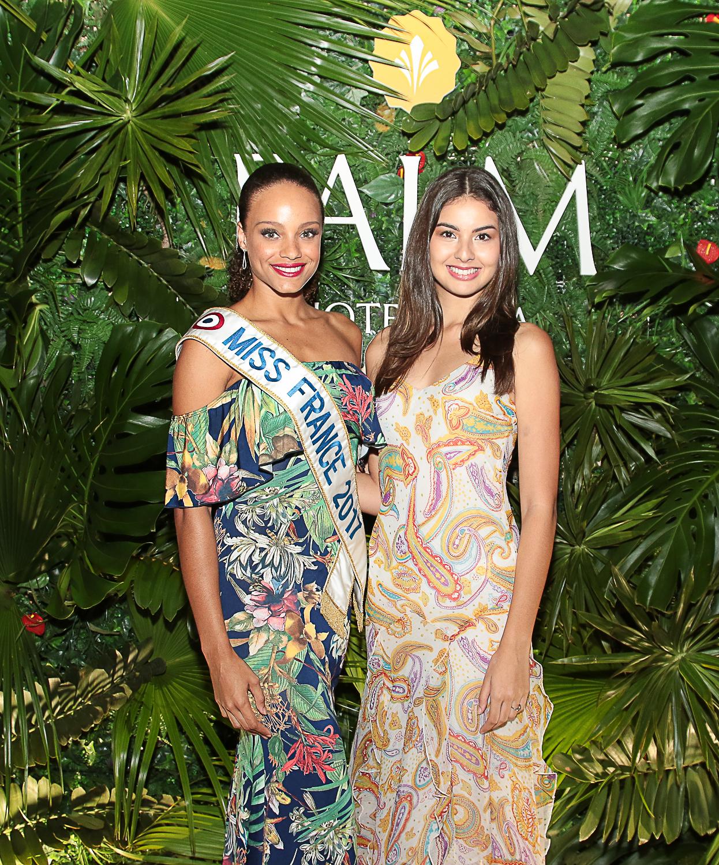 Sur Instagram, Alicia Aylies salue La Réunion