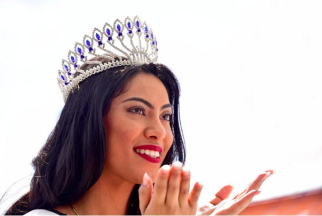 Les premiers pas de notre Miss Réunion 2017, Audrey Chane Pao Kan