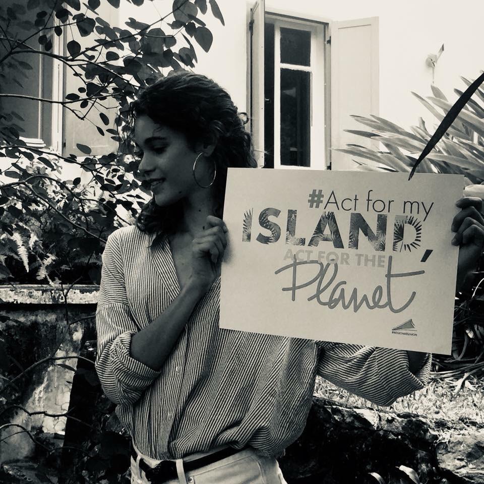 Pauline Hoarau à la Réunion : marraine de la conférence sur le changement climatique