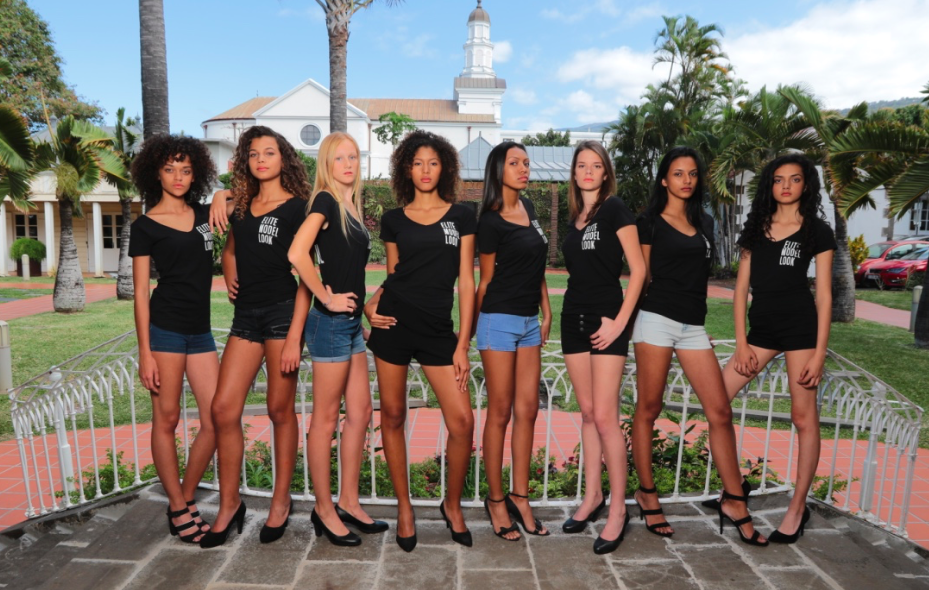 Les 8 finalistes Elite Model Look Reunion Island 2017