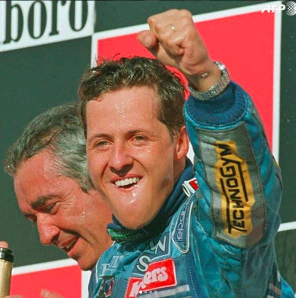 Photo : capture Instagram M.Schumacher