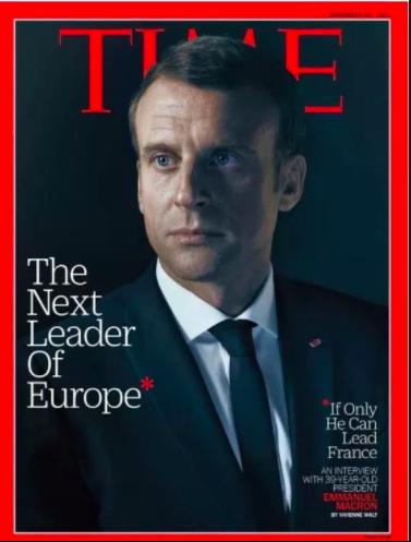 Macron en couverture du Times : la polémique