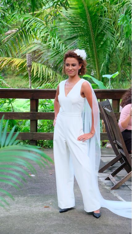 Marie Payet guest star du défilé Tropical de Saint-Benoît
