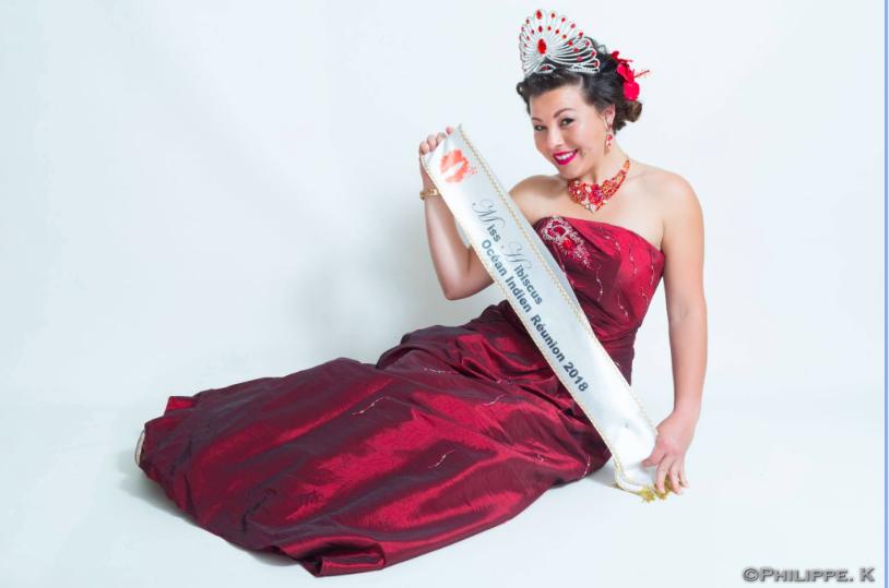 Angélique Marceline, Miss Hibiscus 2018 est sapeur pompier volontaire