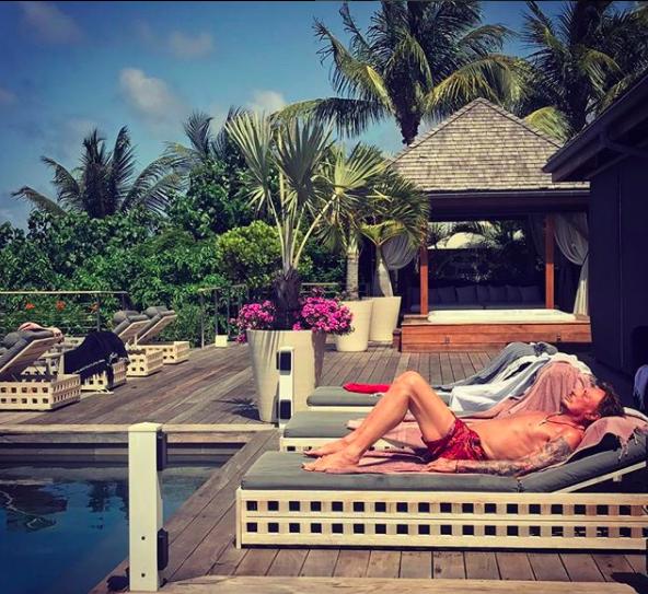 Photo : Instagram Johnny Hallyday
