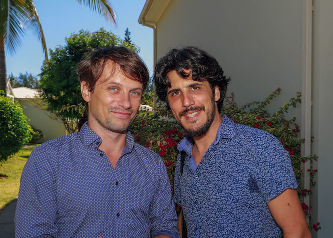 Charles Blondeau et Abel Vaccaro