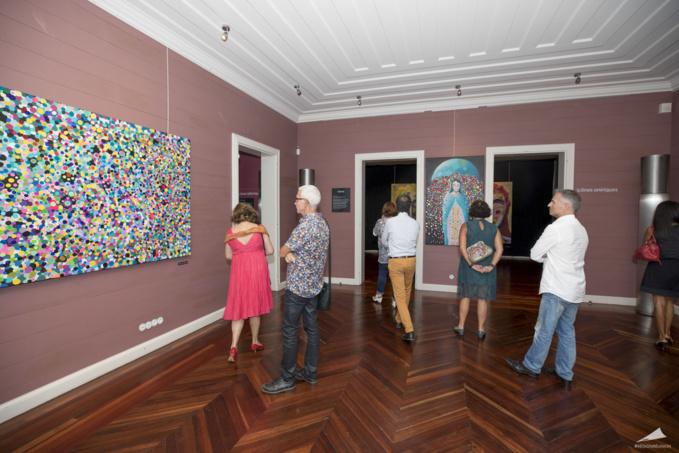 Le vernissage de l'exposition de Lionel Lauret en images