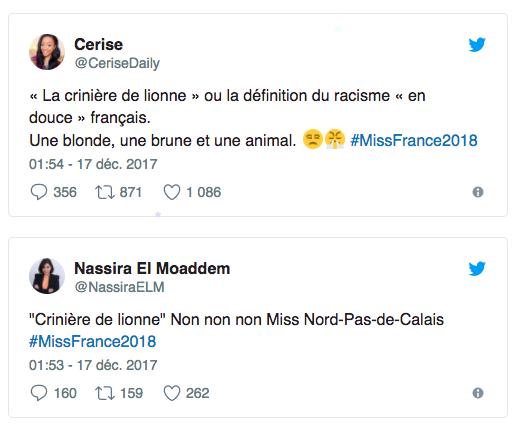 La toute nouvelle Miss France taxée de racisme...