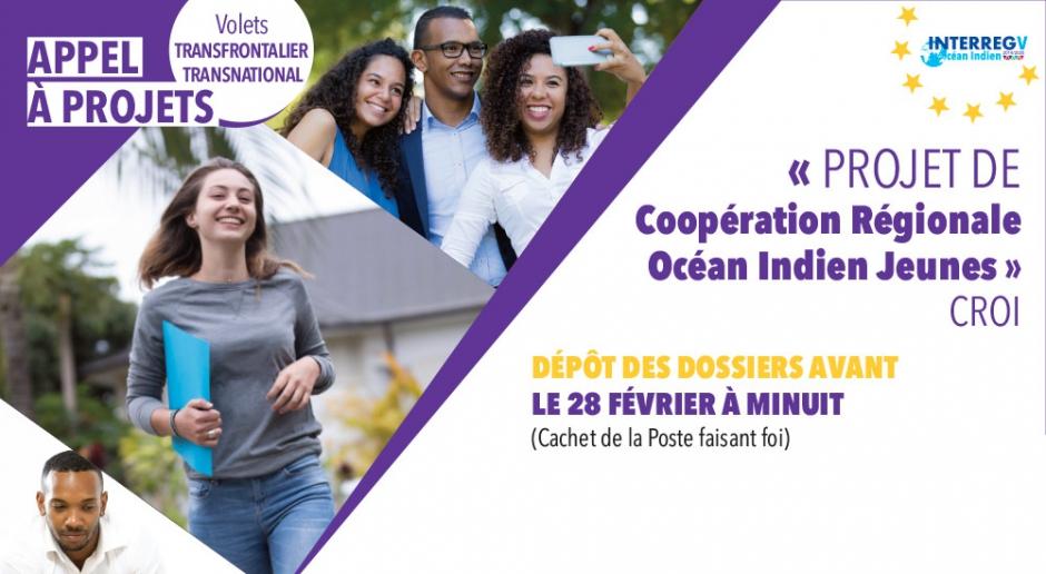 Appel à projets : Coopération Régionale Océan Indien Jeunes