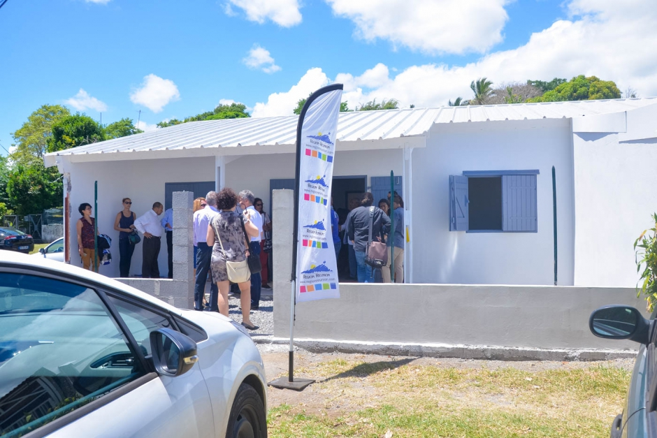 Le groupe d'habitations Les Lilas à Saint-André réhabilité grâce au soutien financier de la Région