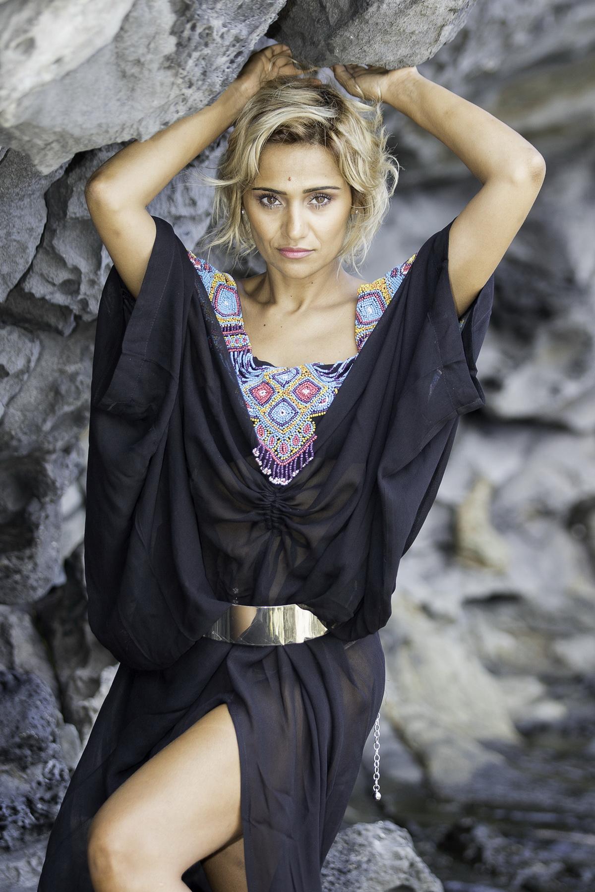 Asma Ayroles, la beauté malgache et yéménite
