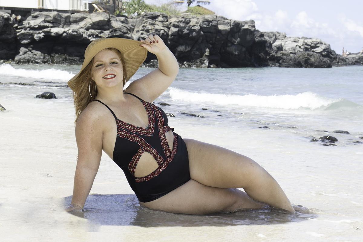 Laura Kbidi : sublime et sexy gardienne du volcan