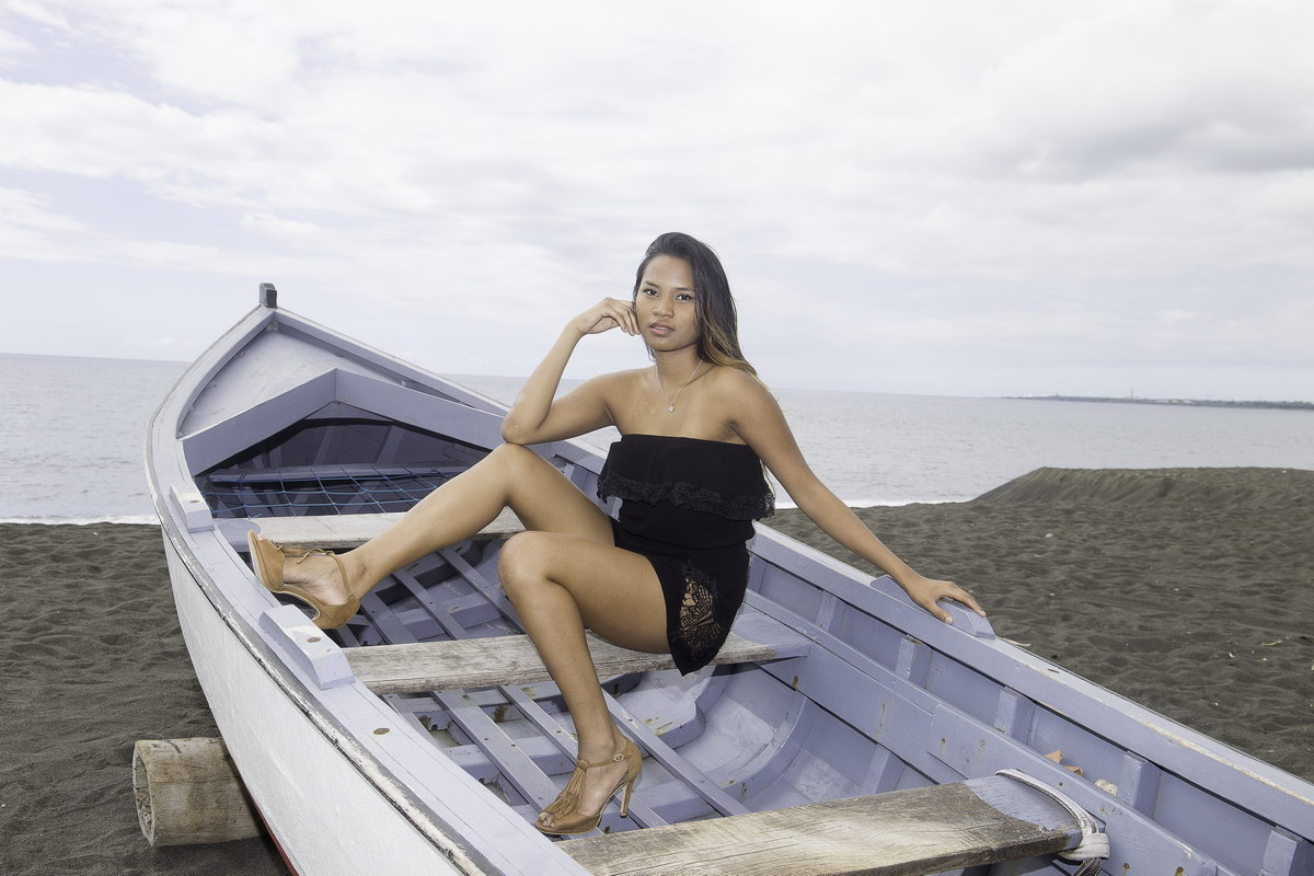 Nouria, la belle malgache qui croque la vie
