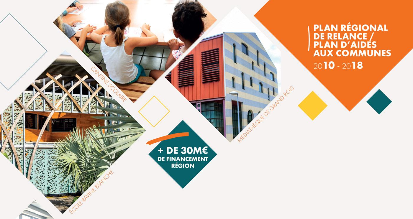 La Région accompagne les communes de La Réunion - Saint-Pierre