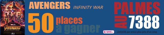 [JEU] La sortie du mercredi : AVENGERS, Infinity War