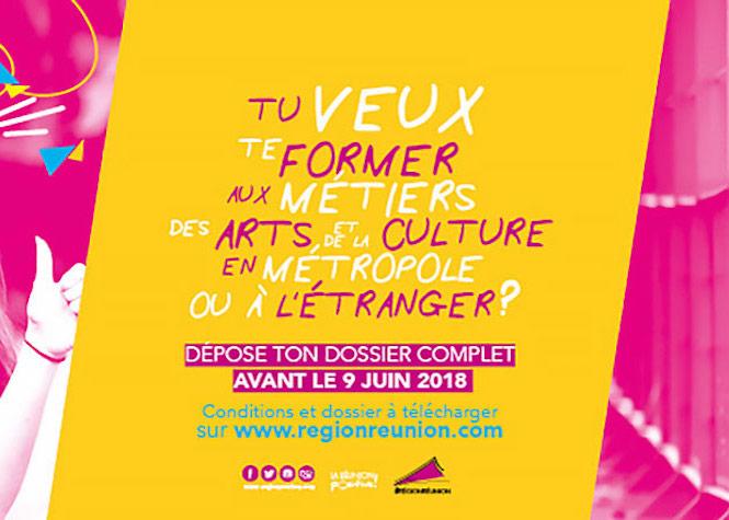 La Région Réunion partenaire de votre projet de formation professionnelle Arts et Culture