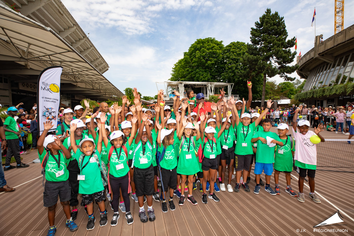 La Réunion présente au tournoi Roland Garros 2018