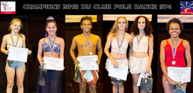 Pole dance: Les 1er champions régionaux qualifiés pour le Championnat de France