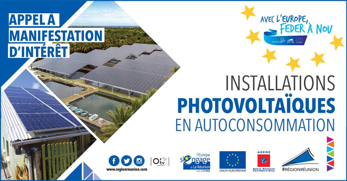 Appel à Manifestation d'Intérêt : Installations photovoltaïques en autoconsommation