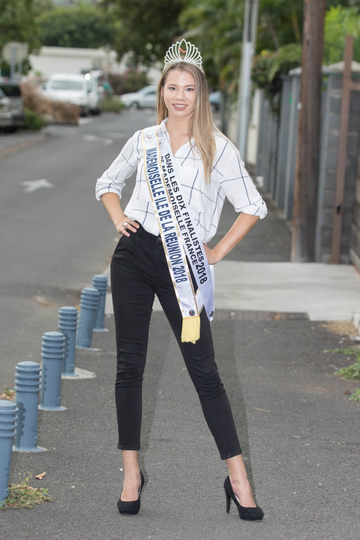 Eliska Langlois, une très attachante Mademoiselle Ile de La Réunion