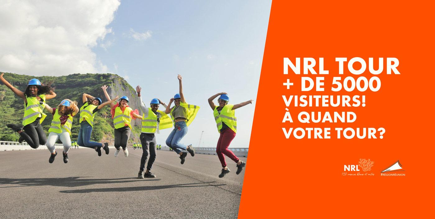 NRL : Vous êtes plus de 5000 à avoir visiter le chantier et ses 150 mesures pour l'environnement