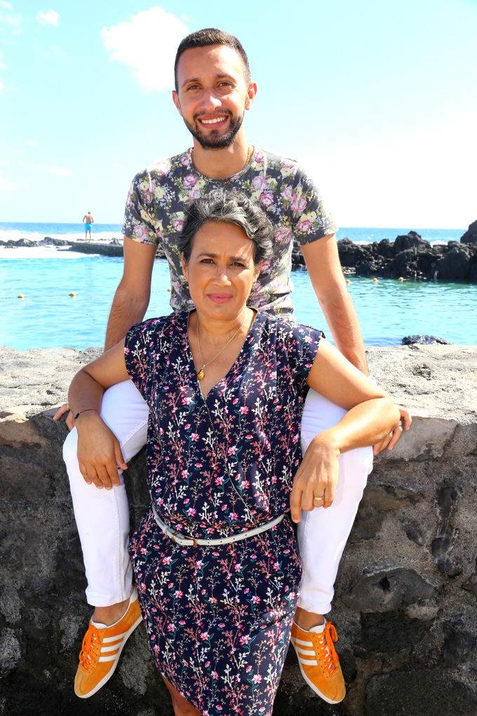 Jérôme et sa maman Christine: gagnants de notre jeu fête des mères
