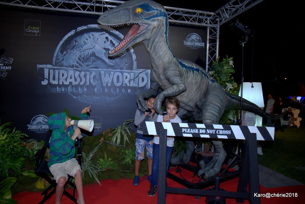 Soirée Jurassic World : De la frayeur à l'émotion pour quelques privilégiés