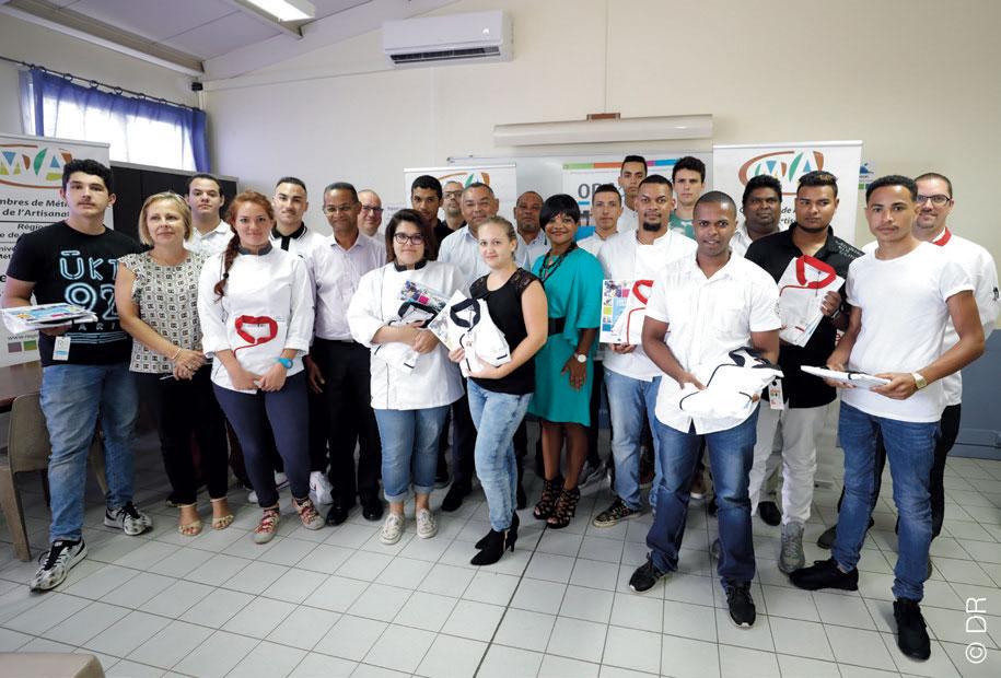 Farandole de découvertes pour les apprentis Réunionnais